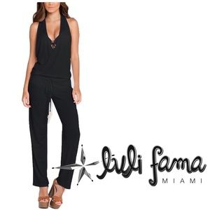 Luli Fama COSITA BUENA T Back Jumpsuit Cover-Up